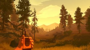 FIrewatch Interactive virtual art as an aesthetic Andrei Isakov