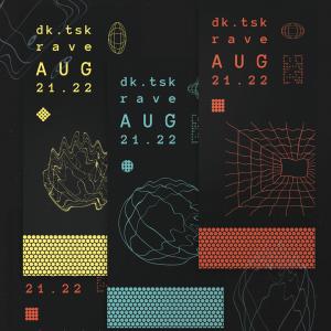 dk.tsk rave poster